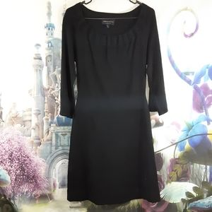 ❄Black connected apparel dress